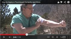 Video: How to Apply a Tourniquet Properly. What to Do If It Doesn't Work | The Survival Doctor