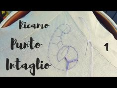 Embroidery Tutorial - Cutwork part 1 Embroidery Stitches Tutorial, Embroidery Patterns, Candlewicking Patterns, Cutwork Embroidery, Cut Work, Irish Crochet, Needle And Thread, Needlework, Macrame
