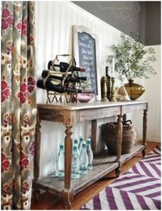 everett foyer table in your home