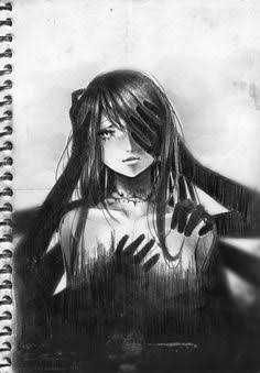 Emptiness by akirakirai on deviantart demon drawings, dark drawings, depression drawing, drawings about Demon Drawings, Sad Drawings, Dark Art Drawings, Art Drawings Sketches, Anime Kunst, Anime Art, Drawings About Depression, Depression Art, Dark Paradise