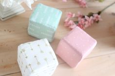 Soft Stackable Blocks - Sadie Collection by MunchkinLaneBoutique on Etsy