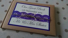 Guest Book by Paper Lilly Designs