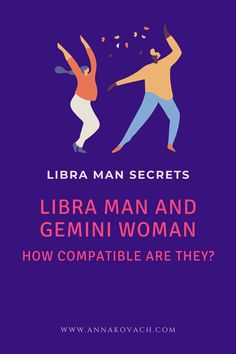 The Libra man with Gemini woman connection is one that has the opportunity to be a genuinely happy relationship. Is it long lasting? It could be if both want it to be. They're drawn to each other for nearly the same reasons and tend to hit it off quite easily. Keep reading for more information about this sunshiny duo. Libra Man, Gemini Woman, Love Compatibility, Happy Relationships, Zodiac Signs, Opportunity, Connection, Reading, Random