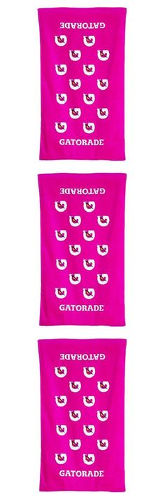 Pink Gatorade Towels February 2017