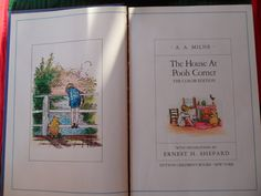 The House at Pooh Corner  Vintage 1991  by ChicAvantGarde on Etsy