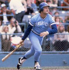 George Brett, one of baseball's best hitter.