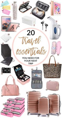 This post has been a long time coming and I'm excited to be able to have all my travel must haves in one spot!… Source by lauronlocation Bags travel Source by bags essentials Travel Essentials For Women, Beauty Essentials, Packing Tips For Travel, Travel Trip, Airplane Essentials, Road Trip Packing, Budget Travel, Time Travel, Adventure Travel