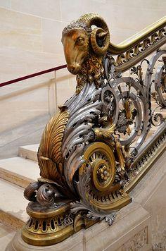 Château de Chantilly - Escalier d'honneur