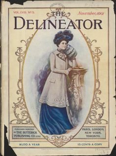 Sequence 1 : The delineator. Paris ; New York : Butterick Pub. Co. Harvard University Library PDS