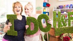 How to make Moss Monogram Letters!   #diy #moss #wedding #Lilyshop