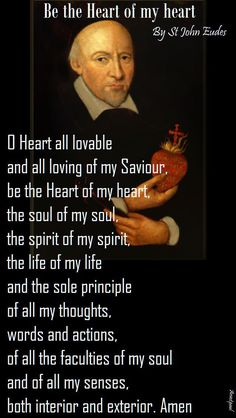 8 Saint John Eudes and the Two Hearts of Jesus and Mary. ideas   heart of jesus, catholic, blessed mother