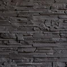 Premium Manufactured Stone Veneer - Classic Ledge Stone - Granite Gray