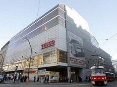 Tesco in Prague. The european WalMart.