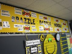 """""""Razzle Dazzle Word Wall"""" from Write On, Fourth Grade!"""