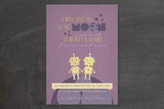 Infinity & Beyond Wedding Invitations
