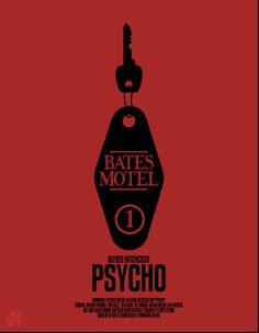 Psycho poster, from Mr-Bluebird's Hitchcock series #hitchcock #psycho