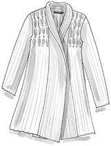 Cardigan châle en lin/lyocell–Les choix bio de Gudrun–GUDRUN SJÖDÉN – Kläder Online & Postorder