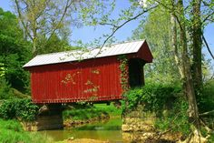Walkersville Covered Bridge - I used to cross this bridge every day.