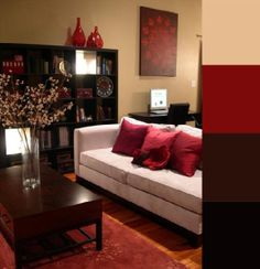 Living Room Colour Ideas Living Room Red, Living Room Color Schemes, Living  Room Colors