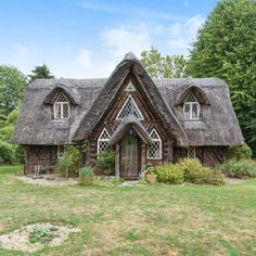 Fancy living in a fairytale thatched cottage? This could the home for you Thatched cottage for sale Forest Cottage, Fairytale Cottage, Cute Cottage, Cottage Style, Cottage Design, Swiss House, Swiss Cottage, Country Living Uk, Country Farmhouse