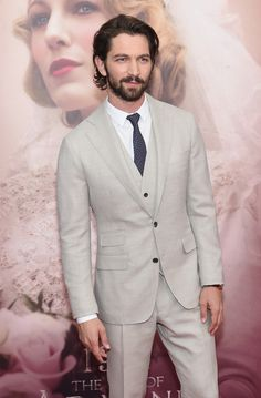 """Huisman has a stare that SLAYS on the red carpet. 
