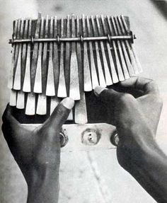 """In Shona music, the mbira dzavadzimu (""""voice of the ancestors"""", national instrument of Zimbabwe) is a musical instrument that has been played by the Shona people of Zimbabwe for thousands of years. The mbira dzavadzimu is frequently played at religious ceremonies and social gatherings. A typical mbira dzavadzimu consists of between 22 and 28 keys constructed from hot- or cold-forged metal affixed to a hardwoodsoundboard (gwariva) in three ..."""