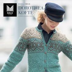 DG369 Dale Gull – Urban Retro – Dale Garn Gull, Knit Jacket, Knitting Ideas, Vests, Knitwear, My Design, Urban, Retro, Sweaters