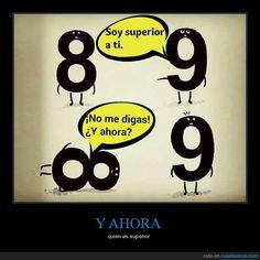 Humor matemático - quien es superior   Gracias a http://www.cuantarazon.com/   Si quieres leer la noticia completa visita: http://www.estoy-aburrido.com/humor-matematico-quien-es-superior/