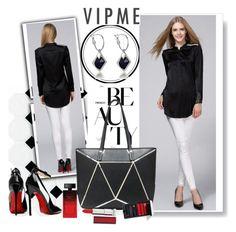 """VIPME 15/1"" by fashionb-784 ❤ liked on Polyvore featuring mode, Posh Girl, Elizabeth Arden, Maybelline, Serge Lutens, women's clothing, women, female, woman en misses"