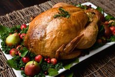 Trisha Yearwood's No Baste No Bother Roasted Turkey  http://www.foodnetwork.com/recipes/trisha-yearwood/no-baste-no-bother-roasted-turkey-recipe/index.html