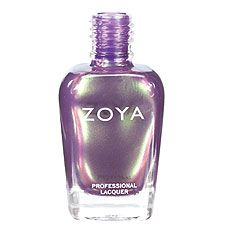Zoya Nail Polish in Adina - Violet metallic multichrome