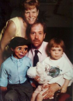 "Akward Family Photos - ""Yes, my father's ventriloquist dummy, Gurgle Worthington, was a part of the family."" (submitted by Aubrey)"