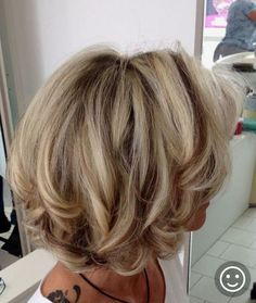 Popular Short Haircuts and Hairstyles for Thick Hair – Page 2 – Hairstyle layeredhaircutsforwomen Layered Haircuts For Women, Popular Short Haircuts, Short Hairstyles For Thick Hair, Short Hair Cuts, Easy Hairstyles, Hairstyle Ideas, Bangs Hairstyle, Pixie Cuts, Party Hairstyle