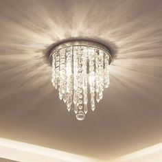 lifeholder Mini Chandelier Crystal Chandelier Lighting 2 Lights Flush Mount x
