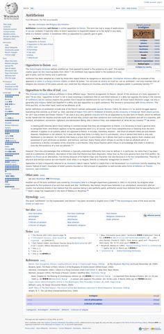 Wikipedia.org/***ATHEIST-- ANTITHEIST