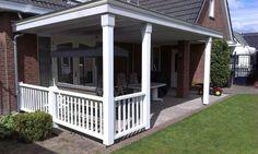 Verandaservice.nl  Luxe veranda met balustrade!