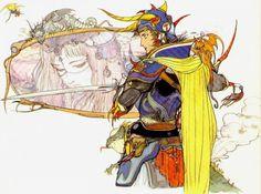 Watch Legendary Final Fantasy Character Designer Yoshitaka Amano Draw Live at Anime Expo