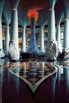 Grand Lobby of Atlantis ~ The Palm, Dubai, United Arab Emirates