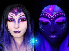 Alien Halloween Makeup w/ Tutorial by KatieAlves.deviantart.com on @DeviantArt