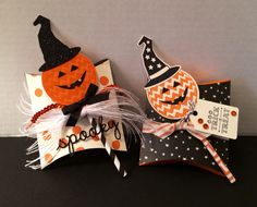 Stampin' Up! Treat Boxes by Kris Dickinson