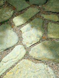 Large Stones Set in Multi Colored Gravel