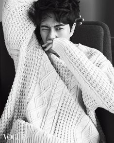 Park Hae Jin - Vogue Magazine November Issue '15