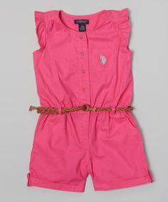 Another great find on #zulily! Pink Kite Angel-Sleeve Romper - Infant, Toddler & Girls #zulilyfinds
