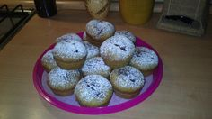 Muffin alla banana con nutella