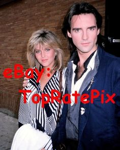 MICHAEL PRAED & CATHERINE OXENBERG - Dynasty Duo - Rare 8x10 Candid Photo Dynasty Tv Show, Der Denver Clan, 80s Tv, The Reunion, January 12, Amy Adams, Timeless Beauty, Tvs, Candid