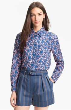 MARC BY MARC JACOBS 'Tootsie Flower' Silk Top | Nordstrom