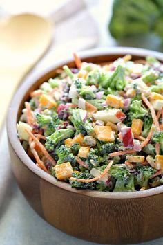 Loaded Broccoli Salad   Six Sisters' Stuff