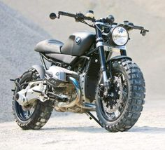 BMW R1200R by Lazareth | BMW R1200R Scrambler | Custom BMW R1200R