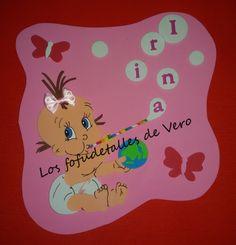 Cartel en goma eva bebe