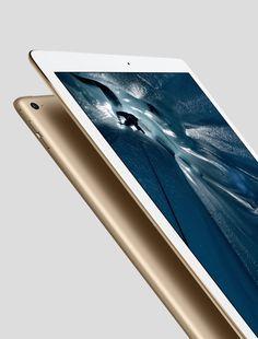 Gold iPad Pro.
